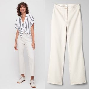 Wilfred Free Lizzie High Waist Cropped Flare Pant